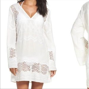LA BLANCA Cover Up Tunic Bell Sleeves | XS